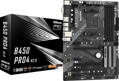 Picture of ASROCK B450 PRO4 R2.0 AM4 DDR4 4xSATA