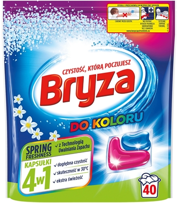 Attēls no Bryza 4in1 Spring Freshness Washing capsules 40 pcs.