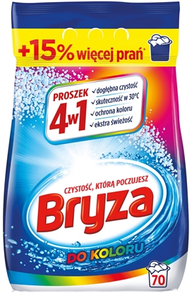 Attēls no Bryza 4w1 Washing Powder for colored Fabrics 4,55 kg