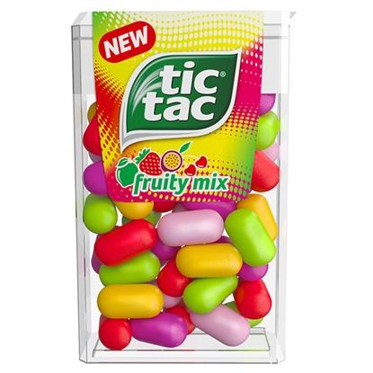 Attēls no Dražejas Tic Tac Fruity Mix ar augļu garšu, 18g