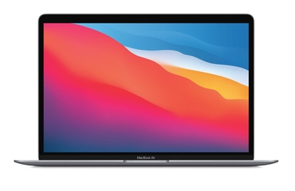 Attēls no 13 MacBook Air Space Gray: Apple M1 chip 8-core CPU and 8-core GPU/8GB/512GB SSD/US English layout - MGN73ZE/A/US