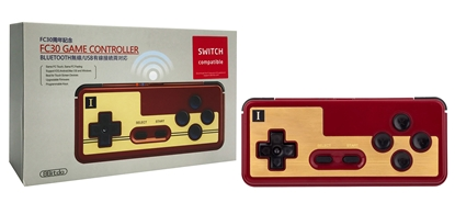 Attēls no 8BitDo FC30 Bluetooth and USB Game Controller (Switch, PC, MAC, Android)