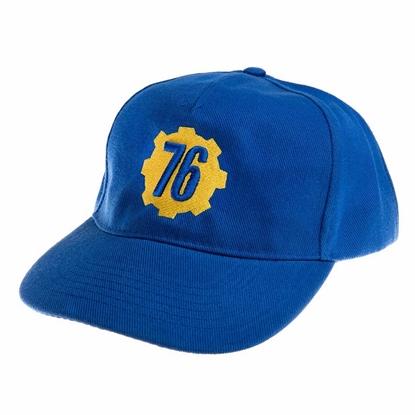 Изображение Baseball Cap: Fallout 76 - Logo, Blue