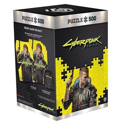 Picture of Good Loot Puzzle: Cyberpunk 2077 - Keyart Male V, 500 Pieces