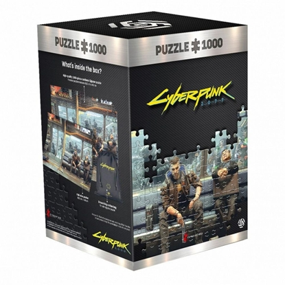 Picture of Good Loot Puzzle: Cyberpunk 2077 - Metro, 1000 Pieces