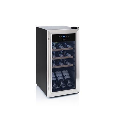 Attēls no ETA Wine Cooler ETA952890010G Energy efficiency class G, Free standing, Bottles capacity 15, Black