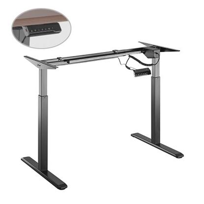 Attēls no Up Up Height adjustable desk frame Bjorn, black