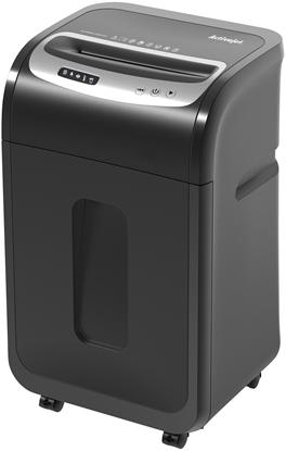 "Изображение Activejet ASH-2502C paper shredder Cross shredding 60 dB 8.98"" (22.8 cm) Black, Silver"