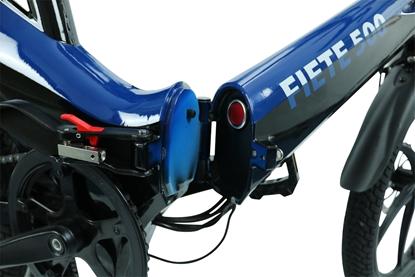 """Attēls no Blaupunkt Fiete 500, E-Bike, Motor power 250 W, Wheel size 20 """", Warranty 24 month(s), Blue/Black"""