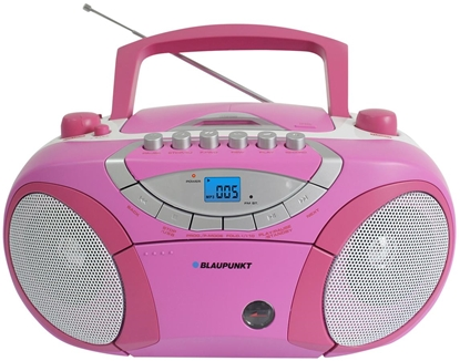 Picture of Blaupunkt BB15PK portable stereo system Digital 2 W Grey,Pink