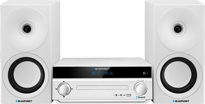 Picture of Blaupunkt MS30BT EDITION home audio set Home audio micro system White 40 W