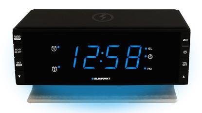 Attēls no Blaupunkt CR55CHARGE radio Clock Digital Black