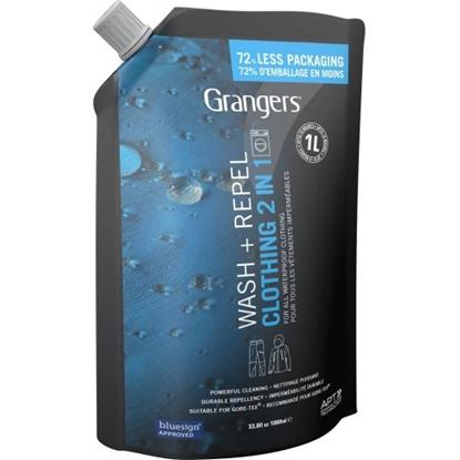 Attēls no GRANGERS 2 in 1 Wash+Repel Pouch 1000ml / 1000 ml