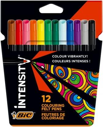 Picture of BIC Intensity Up Felt pens box of 12 pcs. 978004