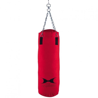 Attēls no Hammer Punching bag Canvas, 100x30 cm, Red