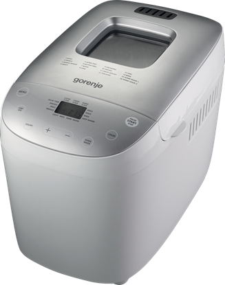 Picture of Gorenje Bread maker BM1600WG Power 850 W, Number of programs 16, Display LCD, White/Silver