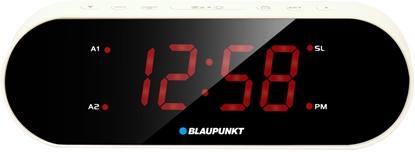Attēls no Blaupunkt CR6WH alarm clock Digital alarm clock Black, White
