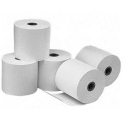 Attēls no Cash Register Thermal Paper Roll Tape, 10pcs (807512-T) width 80mm, length 73m, bushings 12mm, maximum diameter 75mm