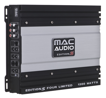 Picture of CAR AMPLIFIER MAC AUDIO EDITION S FOUR