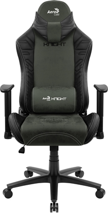 Picture of Aerocool KNIGHT AeroSuede Universal gaming chair Black, Green