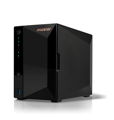 Изображение Asus AsusTor Tower NAS AS3302T  Up to 2 HDD, Realtek RTD1296 Quad-Core, Processor frequency 1.4 GHz, 2 GB, DDR4, Black