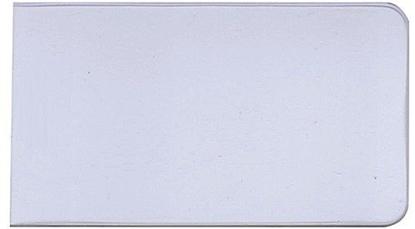 Изображение Dėklas darbo pažymėjimui, 74x105 mm, plastikinis, skaidrus 0811-001