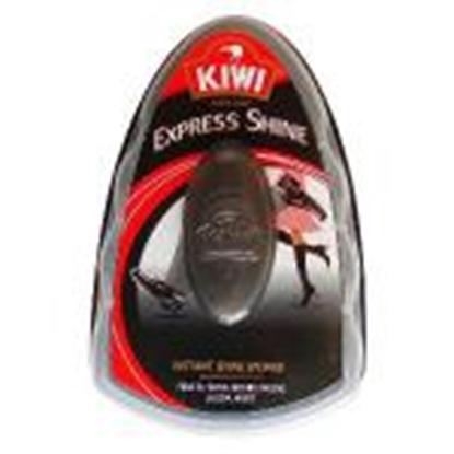 Изображение Apavu spodrināšanas švammīte KIWI Express Shine,  melna krāsa