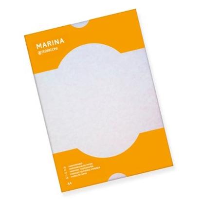 Изображение ANTALIS Dekoratīvais papīrs MARINA 175g, A4, rozā, 25 lapas/paka
