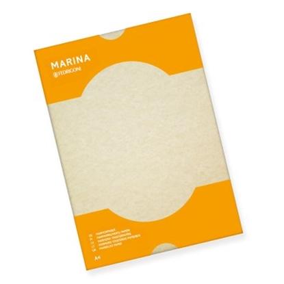 Изображение ANTALIS Dekoratīvais papīrs MARINA 175g, A4, smilškrāsā, 25 lapas/paka