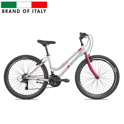 """Picture of STUCCHI MTB LADY Bike, Wheel size 26 """", Warranty 24 month(s), White/Pink"""