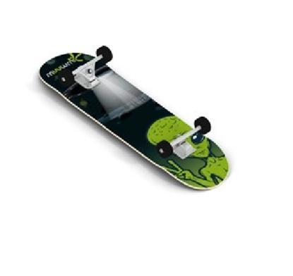 Изображение Muuwmi Skateboard skrituļdēlis, ABEC 5, Alien