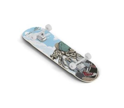 Attēls no Muuwmi Skateboard skrituļdēlis, ABEC 5, Skull