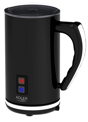 Изображение Adler AD 4478 milk frother Automatic milk frother Black,White