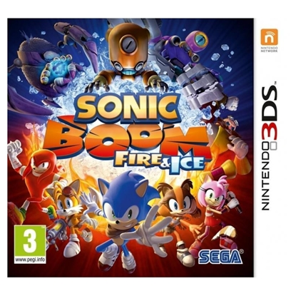 Attēls no 3DS Sonic Boom:Fire and Ice