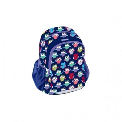 Attēls no Backpack STARPAK 41x31x21cm, multicolor blue