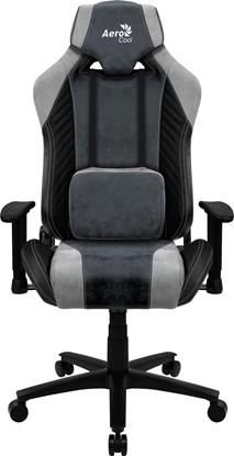 Picture of Aerocool BARON AeroSuede Universal gaming chair Blue, Grey