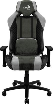 Picture of Aerocool BARON AeroSuede Universal gaming chair Green, Grey