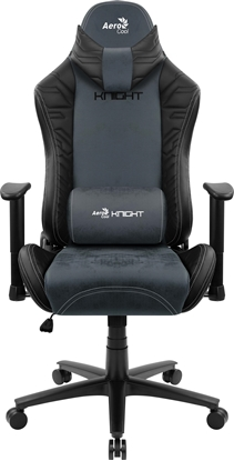 Picture of Aerocool KNIGHT AeroSuede Universal gaming chair Black, Blue
