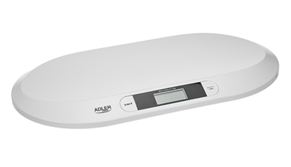 Изображение Adler AD 8139 Child Scale Adler Adler AD 8139  Maximum weight (capacity) 20 kg, Accuracy 10 g, White