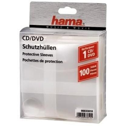 Изображение HAMA CD/DVD Protective Sleeves 100