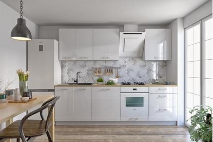 Изображение Modular kitchen Tom White/White Gloss