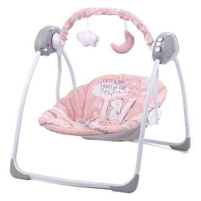 Attēls no Kidwell LUPO Automatic Swing Chair Pink