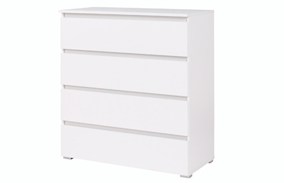 Изображение Cama chest of drawers 4D COCO C4 H97x92x41 white mat