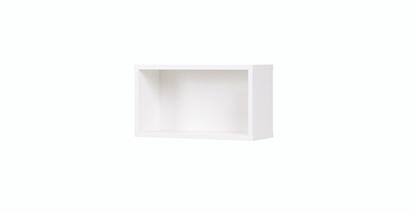 Attēls no Cama shelf '45' COCO C12 25x45x17 white mat
