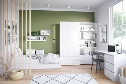 Attēls no Cama living room furniture set COCO1 (C8+C11+C12+C2+C3+C9) white mat