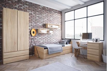Attēls no Cama living room furniture set COCO2 (C8+2xC12+C9) sonoma oak