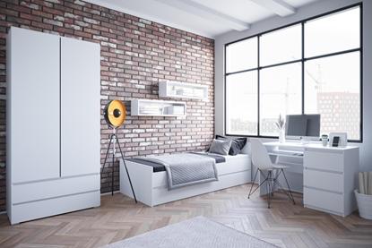 Attēls no Cama living room furniture set COCO2 (C8+2xC12+C9) white mat