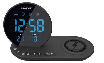 Attēls no Blaupunkt CR85BK alarm clock Digital alarm clock Black