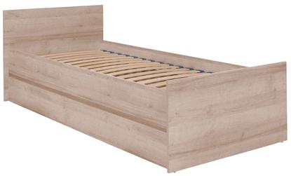 Attēls no Cama bed (frame + rack) COCO C8 90x200 sonoma oak