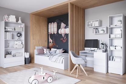 Attēls no Cama living room furniture set COCO6 (C8+2xC11+C1+C9+C3) white mat
